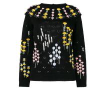 Pullover mit Stickerei