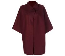 Oversized-Jacke aus Schurwolle