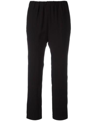Cropped-Hose mit geradem Bein