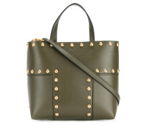 Block-T stud mini tote