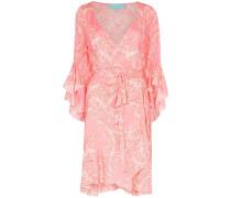 'Kirsty' Wickelkleid mit Palmen-Print