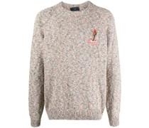 Desert Mood embroidered jumper