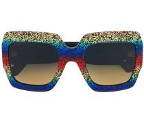 Quadratische Oversized-Sonnenbrille - men