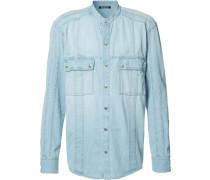 Hemd mit Knopfverschluss - men - Baumwolle - 42