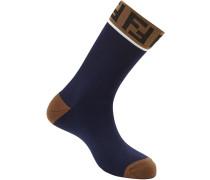 Socken mit FF-Muster