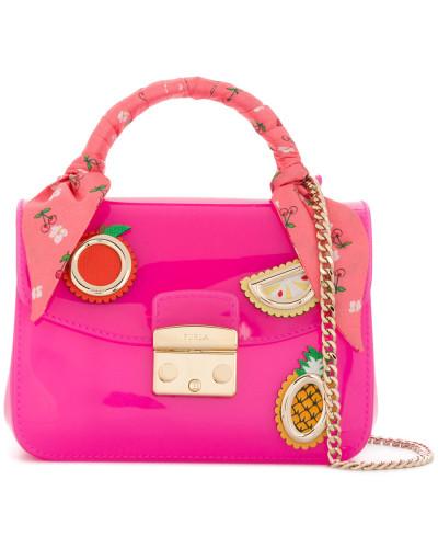Furla Damen 'Candy' Handtasche mit Applikationen