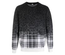 Pullover mit Pixel-Karo