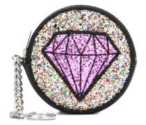 Münztäschchen mit Diamantstickerei - men