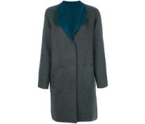 Mantel mit kontrastierendem Revers