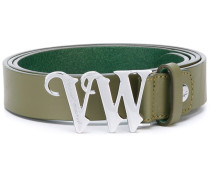 logo buckle belt - women - Kalbsleder