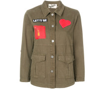 patch military jacket