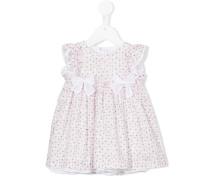 Gepunktetes Kleid - kids - Baumwolle/Elastan