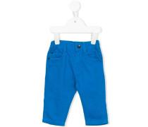 Hose mit Logo-Schild - kids - Baumwolle - 9 M.
