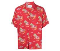 Hawaiihemd mit kurzen Ärmeln