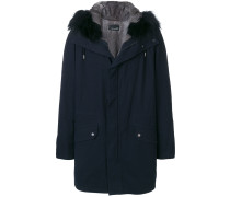 fur hooded parka coat