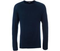 Gerippter Pullover - men - Baumwolle/Kaschmir