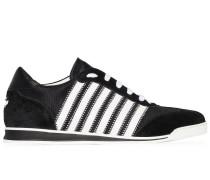 Gestreifte 'Tennis' Sneakers