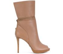 Rosalie open toe boots
