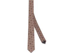 Krawatte mit FF-Muster
