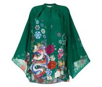 Bluse mit Kimono-Ärmeln