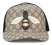 bee print GG Supreme baseball cap