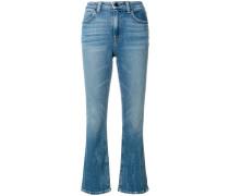 classic cropped denim jeans