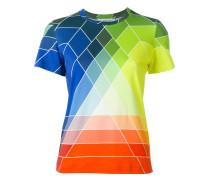 T-Shirt mit grafischem Regenbogen-Print