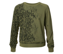 Sweatshirt mit Animal-Print