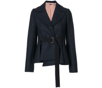 belted fitted jacket