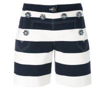 Shorts mit Querstreifen