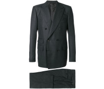 pinstripe two piece suit