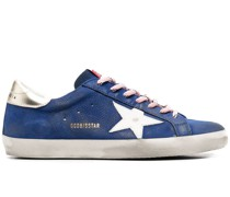 Superstar distressed-effect sneakers
