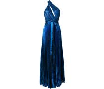 asymmetric lame dress