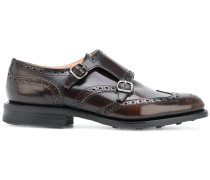 Monk-Schuhe mit Lochmuster