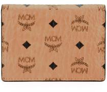 Kleines Portemonnaie mit Logo-Muster