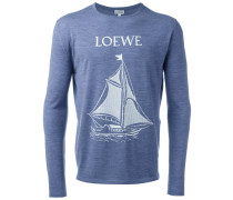 "Pullover mit ""Segelboot""-Print"