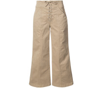 A.L.C. Cropped-Hose aus Baumwolle