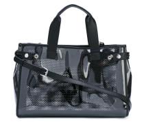 - Shopper mit Logo-Print - women - Kunststoff