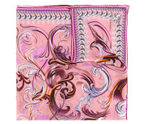 Swirl Baroque print scarf