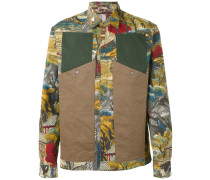 Hemd mit Landschafts-Print - men - Baumwolle