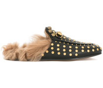 Princetown studded slippers