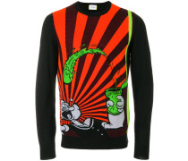 Pullover mit Popeye-Print