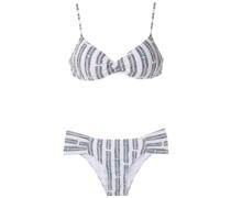 'Vitoria' Bikini mit Print
