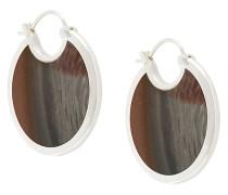 Große 'Mojave' Ohrringe mit Savannen-Jaspis