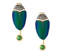 scarab small earrings
