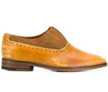 Oxford-Schuhe mit Einsätzen