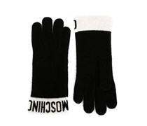Handschuhe mit Logo-Muster