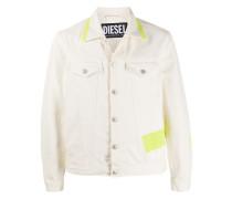 Jacke mit Neonstreifen