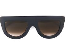 Sonnenbrille mit Visierform - women - Acetat