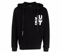 logo-print pullover hoodie